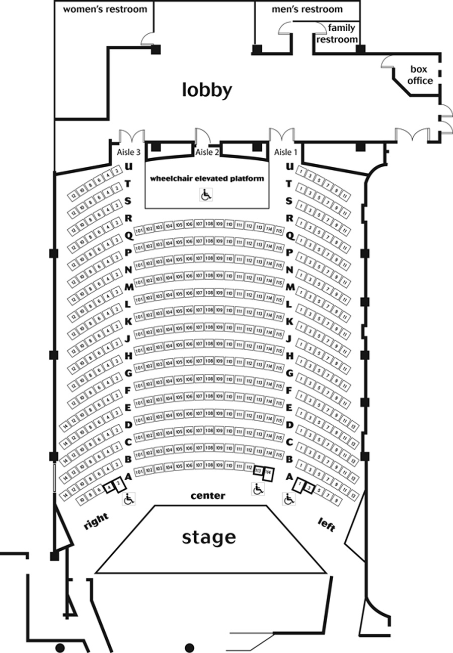 forex arena stage dc seating